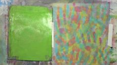Using Your Hands on the Gelli Plate