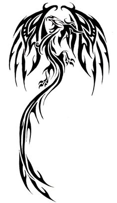 Tatto Ideas 2017 - Dragon Tattoo Designs - The Body is a Canvas Tribal Tattoos, Body Art Tattoos, Tattoos, Picture Tattoos, Art Tattoo, Dragon Tattoo Designs, Dragon, Dragon Design, Tattoo Designs