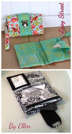 Brandt's Boulevard Wallet Sew & Sell Easy Street Pattern available as an instant digital download.