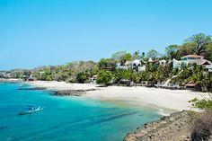 Playa en Contadora.