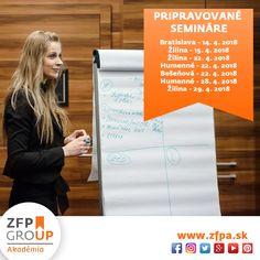 Termíny Základného seminára na mesiac apríl. #zfp #zfpakademia #zakladnyseminar #vzdelavanie #slovensko