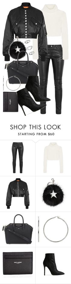 """Untitled #20807"" by florencia95 ❤ liked on Polyvore featuring Yves Saint Laurent, Roberto Cavalli, Alexander Wang, STELLA McCARTNEY, Givenchy, Baldwin and Topshop"