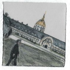 Ecole Militaire. Invalides. Paris. Andi Ipaktchi illustration. illustratrice.com