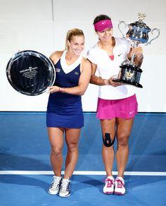 Dominika Cibulkova Photos: 2014 Australian Open - Day 13