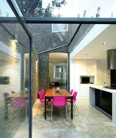 How to extend your period property | Real Homes - floor Love the light and spacious feel to this extension