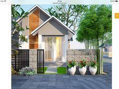 Modern House Facades, Modern Architecture House, House Design, Townhouse Exterior, House Architecture Design, Minimal House Design, Modern Tropical House, House Front Design, My House Plans