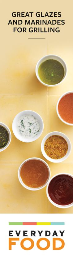 5 Marinades and 3 Great Glaze Recipes from @Everyday Food