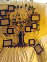 Family Tree Photo Wall Hanging- good shape for wall