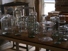 antique glass vessels by Peter Ivy <3