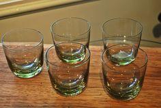 Vintage Shot Glasses. Set Of 5. $18.50