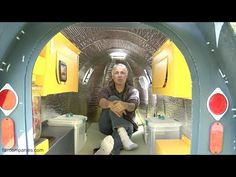 He Says He Lives In This Tiny Camper. When He Shows The Inside? Unbelievable!