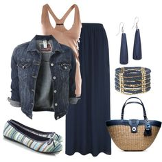 http://www.polyvore.com/blue_maxi_skirt_outfit/set?id=77439753