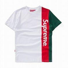 28868405cf5a Supreme Round Collar White Red Green Short Tees Urban Shop, Box Logo, Green  Shorts