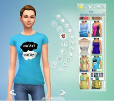 "Mod The Sims - The Fault in Our Stars ""Okay"" Tee"