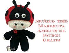 Muñeco Yoyo mariquita