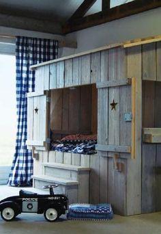 bedstee kinderbed stapelbed bunk bed hoogslaper babykamer kinderkamer children kids room nursery