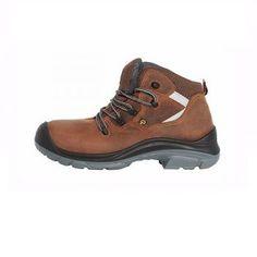 Μποτάκι Εργασίας Καφέ Με Προστασία Hiking Boots, Shoes, Fashion, Moda, Shoe, Shoes Outlet, Fashion Styles, Fashion Illustrations, Fashion Models
