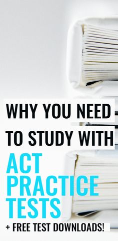 Great resource for free ACT Practice Tests! So helpful!
