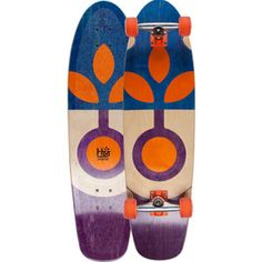 #HABITATSKATEBOARDS Bloom Veneer #Cruiser #skateboard #habitat #skate #skateboarding