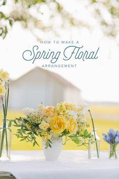 Spring Party Table design by Cut Flower Garden author, Erin Benzakein.