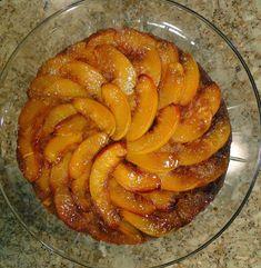Mennonite Girls Can Cook: Nectarine upside down cake