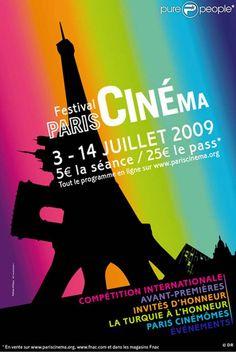 L'affiche du 9e Festival Paris Cinéma !