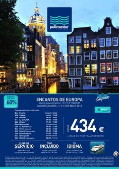Crucero Encantos de Europa - Pullmantur TI con avión desde 434€ - http://zocotours.com/crucero-encantos-de-europa-pullmantur-ti-con-avion-desde-434e/