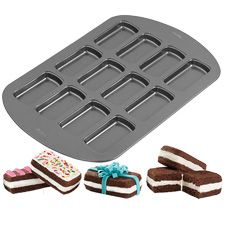 Wilton 12-Cavity Treatwiches Mini Cake Pan 2105-3648 $12.99=Shop Wilton Products