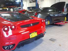 Show room Ferrari N.Y