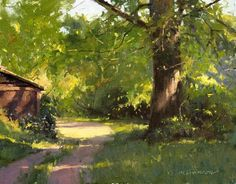 "James Coulter - plein air artist who says: ""You must paint from life if you want…"