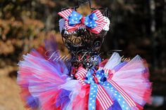 The Liberty Tutu Set - Patriotic Tutu and Headband (sizes newborn to 4T)  USA Tutu, 4th of July Tutu, Red White and Blue Tutu, Military by SunflowerandSparkles on Etsy https://www.etsy.com/listing/130898899/the-liberty-tutu-set-patriotic-tutu-and