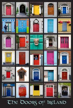 The doors of Ireland