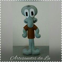 Boneco Lula Molusco - Bob Esponja