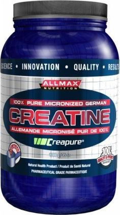ALLMAX CREATINE Micronized Monohydrate Powder, Lab Tested Ultra Pure, 200 Servings, 1000g