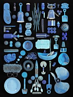 Found in Nature, Photos of Artfully Arranged Beach Trash Collected Around New…