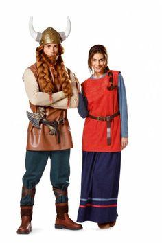 Wikinger Kostüm für Erwachsene - Burda Schnittmuster