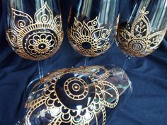 Mehndi Glass Pretty Unique Glassware - Mehndi Glass the home of custom artisan glassware. Wedding & Giftware