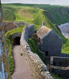 Scotlant Aberdeenshire Stonehaven Dunottar Castle eStock