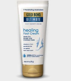 Gold Bond Ultimate Foot Therapy Cream. As we age our skin gets thinner and becomes more prone to tear. #SeniorSafety #SkinCare