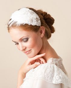 Bridal accessoires from the very talented Jannie Baltzer