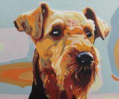 ARTFINDER: Bingley by Emma Cownie - Pop Art Terrier.