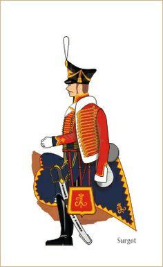 Russia guard hussar