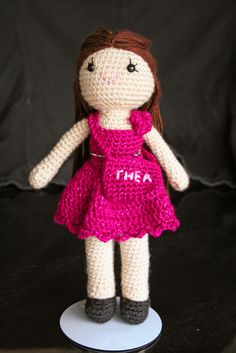 Doll for Thea by Comfort Creatures, via Flickr
