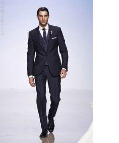 The groom's suit, Victorio & Lucchino designer