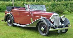 1938 Riley Big Four Redfern Tourer