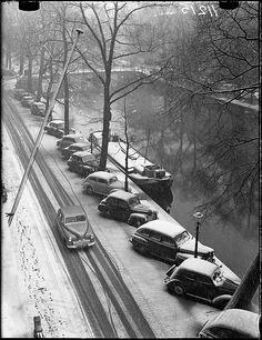 12-15-1952 Keizersgracht, Amsterdam. #amsterdam #1952