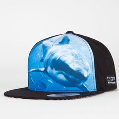 BILLABONG White Mike Sweet Tooth Mens Snapback Hat