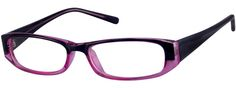 Women's Purple 8086 Plastic Full-Rim Frame (Same Appearance as Frame #3386) | Zenni Optical Glasses-bcrEHksL