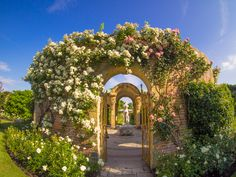 The rose garden at Hevers I ´ve been there with my love  and we took our daughter once.