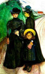 Famille - (Edvard Munch)